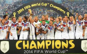 Fussballweltmeisterschaft 2014 Bild